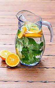 Обои Напиток Апельсин Лимонад Доски Кувшин Пища