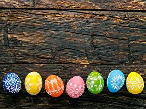 Фото Пасха Доски Яиц Дизайна Разноцветные