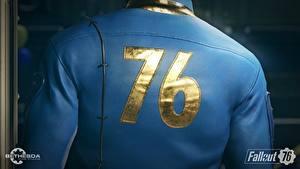 Картинка Fallout Крупным планом Спины 76 Игры