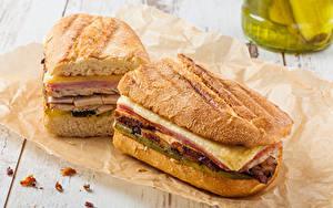 Фото Быстрое питание Сэндвич Хлеб 2