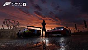 Фотографии Феррари Мужчины Forza Motorsport 7 Игры