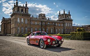 Картинки Феррари Винтаж Красный Металлик 1956-57 250 GT Berlinetta Tour de France Pininfarina