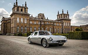 Картинка Феррари Винтаж Серый Металлик 1965 500 Superfast Pininfarina