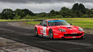 Картинка Ferrari Стайлинг Красный Металлик 2001-03 Prodrive 550 GTO Maranello