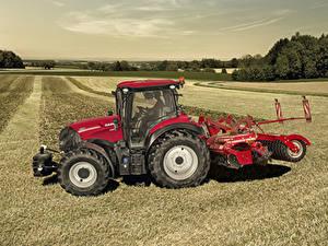 Фотографии Поля Сельскохозяйственная техника Тракторы 2019 Case IH Versum 130 CVXDrive