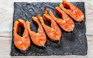 Обои для рабочего стола Рыба Часть Пища