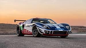 Обои Ford 2018 GT40 Superformance SEMA 2018 Future GT Forty автомобиль