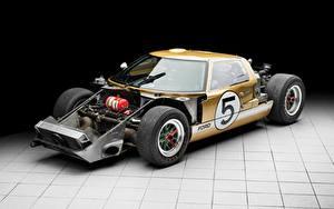 Фотографии Форд GT40, 24 Hours of Le Mans, 1966 Автомобили