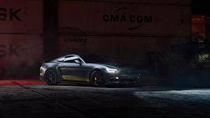 Фото Форд Серый Mustang GT 700hp 2019 by Dennis Ardel машина
