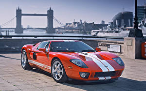 Обои Форд Тюнинг Англия Красных Лондоне gt машины
