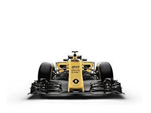 Фото Формула 1 Renault Белый фон R.S.16 Автомобили