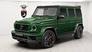 Обои G-класс Мерседес бенц Зеленый AMG Inferno, TopCar, G63, 2019