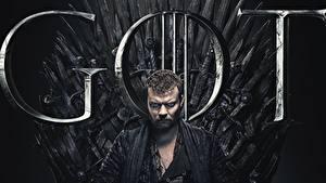 Картинки Игра престолов (телесериал) Мужчина Трон Johan Philip Asbæk, Euron Greyjoy кино