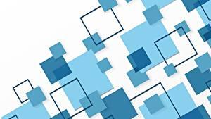 Обои Геометрия Текстура Синих Голубая Белым фоном