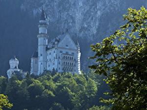 Фотография Германия Замки Нойшванштайн Бавария