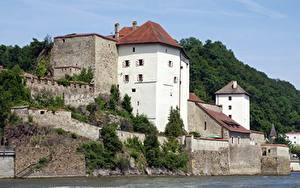 Фотографии Германия Замки Бавария Passau