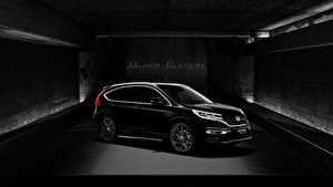 Картинка Honda Черный Металлик 2016 Honda CR-V Black Edition машина