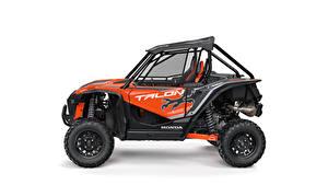 Фотографии Honda Сбоку Белым фоном Talon 1000X, 2020 машина