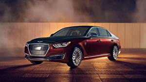 Фотографии Hyundai Седан Металлик Genesis G90, Vanity Fair, Special Edition, US-spec, 2018 Автомобили