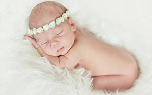 Фотографии Младенцы Сон