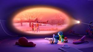 Картинка Головоломка (мультфильм) Sadness, Fear, Joy, Anger, Disgust мультик