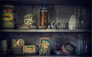 Фотографии Банке Чашка Природа