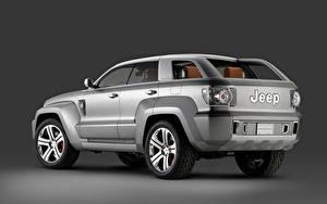 Фотография Джип Серая Металлик Внедорожник Trailhawk Concept, 2007 Автомобили