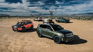 Фотографии Киа Пустыня CUV Telluride, US-spec, 2019 авто
