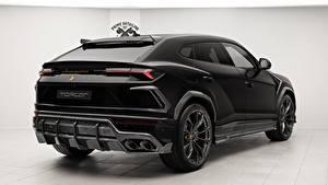 Картинка Lamborghini Вид Черный 2018 TopCar Urus Машины
