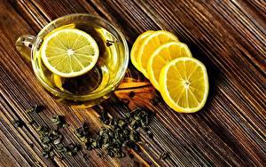 Фотография Лимоны Чай Чашка