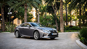 Фотографии Lexus Серая Металлик 2018-19 RC 300h Worldwide машины