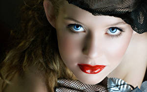 Фотография Губы Глаза Лицо Мейкап Смотрит Девушки