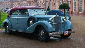 Обои Maybach Старинные Голубая Металлик 1939 SW 42 авто
