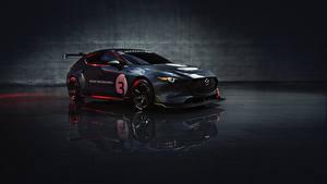 Фотография Мазда Стайлинг Серая Металлик 2020 Mazda3 TCR авто