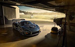 Фотография Макларен Серый 2020 Novitec Senna автомобиль