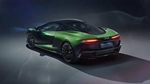 Фото McLaren Зеленых Металлик MSO, 2020, GT, Verdant Theme авто