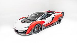 Фотографии McLaren Белым фоном Sabre by MSO, 2020 Автомобили