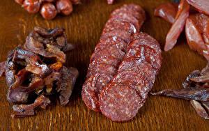 Картинка Мясные продукты Колбаса Нарезка