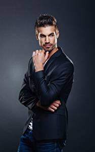 Фотографии Мужчины Модель Руки Взгляд