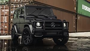 Фото Mercedes-Benz Гелентваген Черный G63 AMG