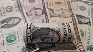 Фотографии Деньги Вблизи Купюры Доллары