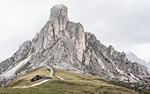 Фотография Горы Италия Dolomites, La Gusela Peak