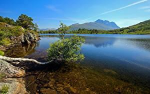 Фотография Гора Озеро Норвегия Møre og Romsdal