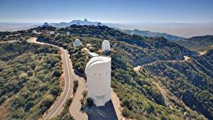 Картинка Горы Дороги США San Diego, Palomar Observatory Природа