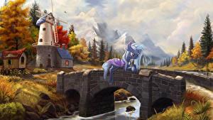 Фото Мой маленький пони: Дружба – это чудо Мосты Мельница Мультфильмы