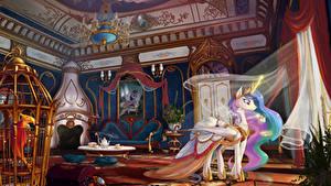 Картинки My Little Pony Интерьер