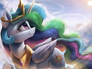 Обои для рабочего стола Мой маленький пони: Дружба – это чудо Единороги Мультфильмы