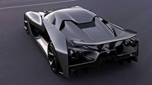 Фотографии Nissan Сзади Металлик Черный 2020, Vision Gran Turismo Автомобили