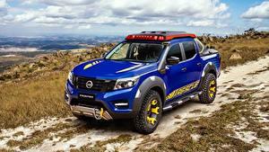 Фото Ниссан Синий Пикап кузов Concept 2018 Sentinel Frontier Автомобили