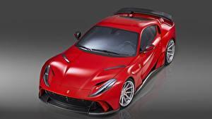 Фото Красный Металлик Novitec, N-Largo Superfast 812 2019 Автомобили